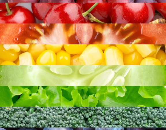 Healthy Produce Rainbow