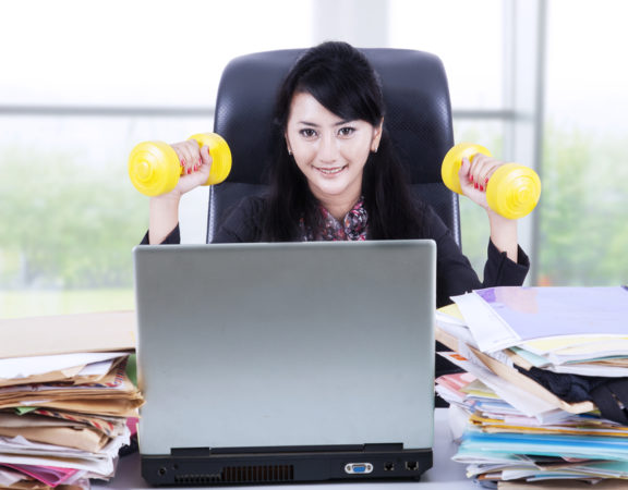 how to be more active while at work