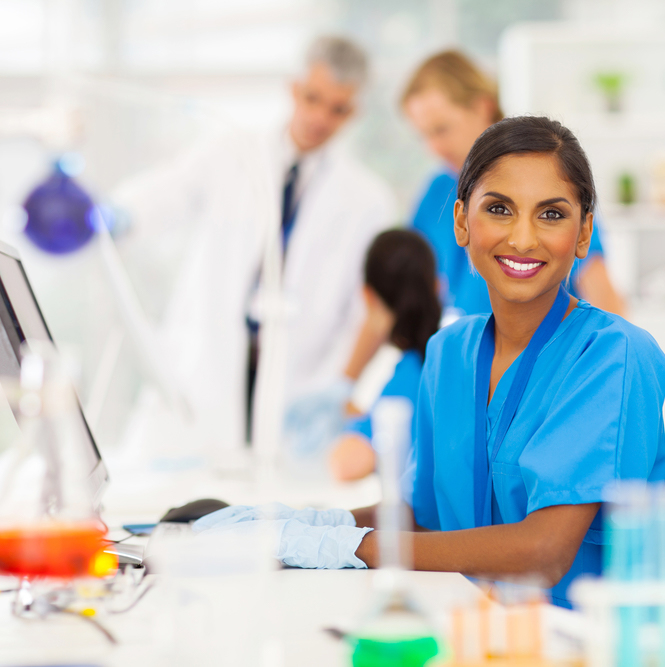 Phentramin-D scientifically formulated image of scientist in lab
