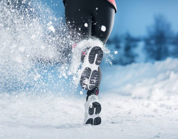 Running Shoes in Winter